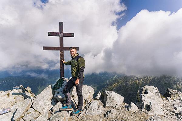 Krywań - szczyt