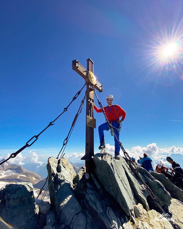 grossglockner na szczycie
