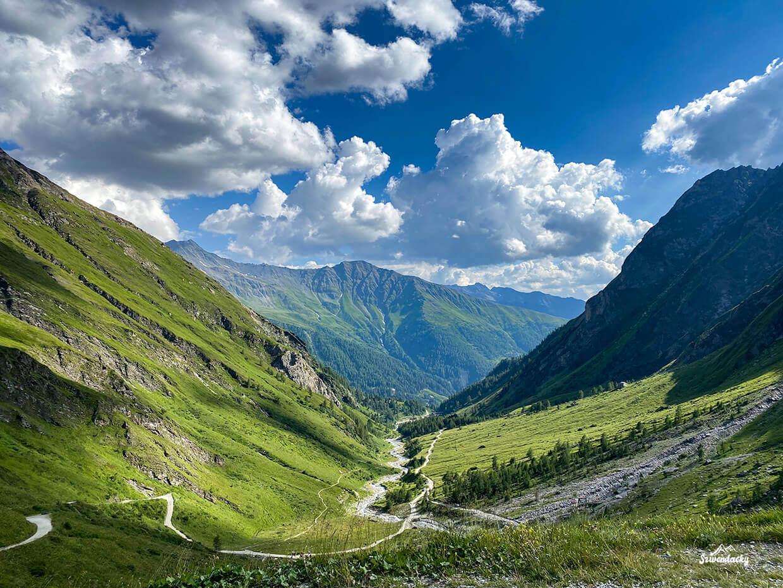 Droga do Lucknerhütte