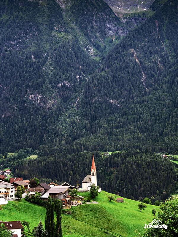kościół w tyrolu