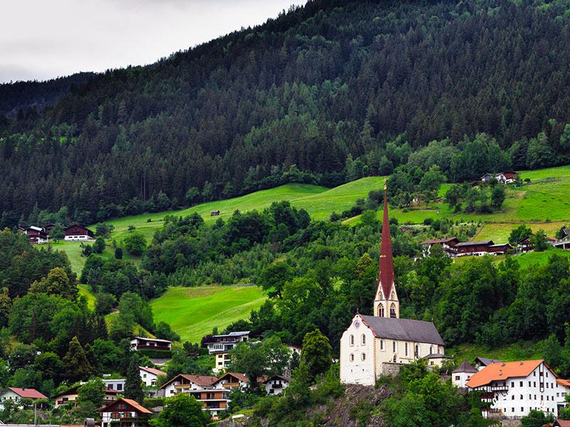 kościół tyrol