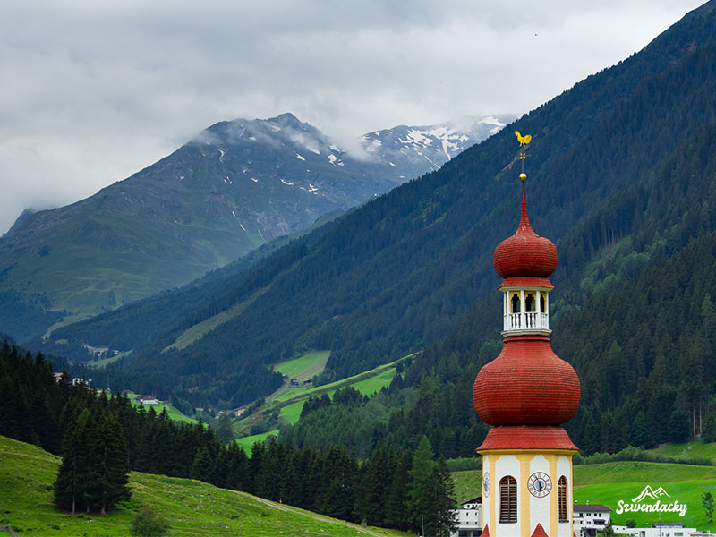 kościół tyrol alpy